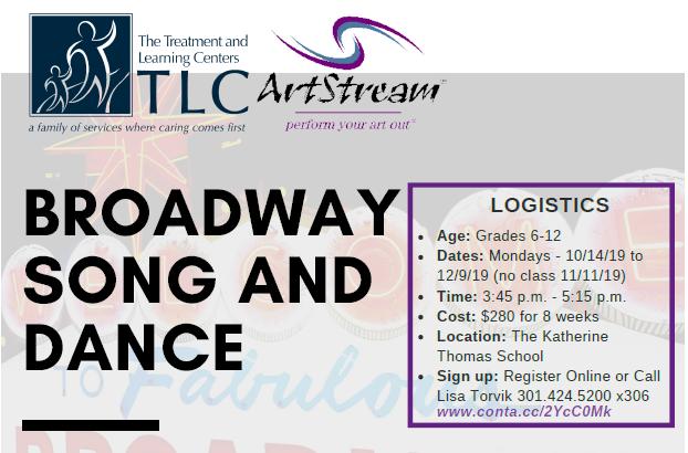 ArtStream, Inc  Broadway Song and Dance (TLC), Grades 6-12